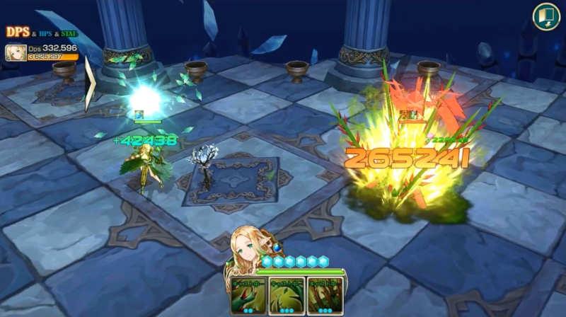 kings raid lorraine skill1
